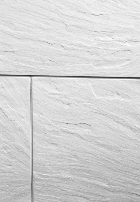 Aspect minéral Pierre de Loire, pour une façade minérale et organique (bardage avec ossature et sans ossature, vêture)