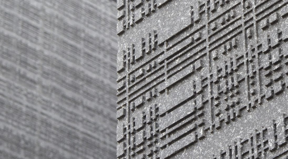 Aspect minéral Carea URBA, pour une façade urbaine (bardage avec ossature et sans ossature, vêture)
