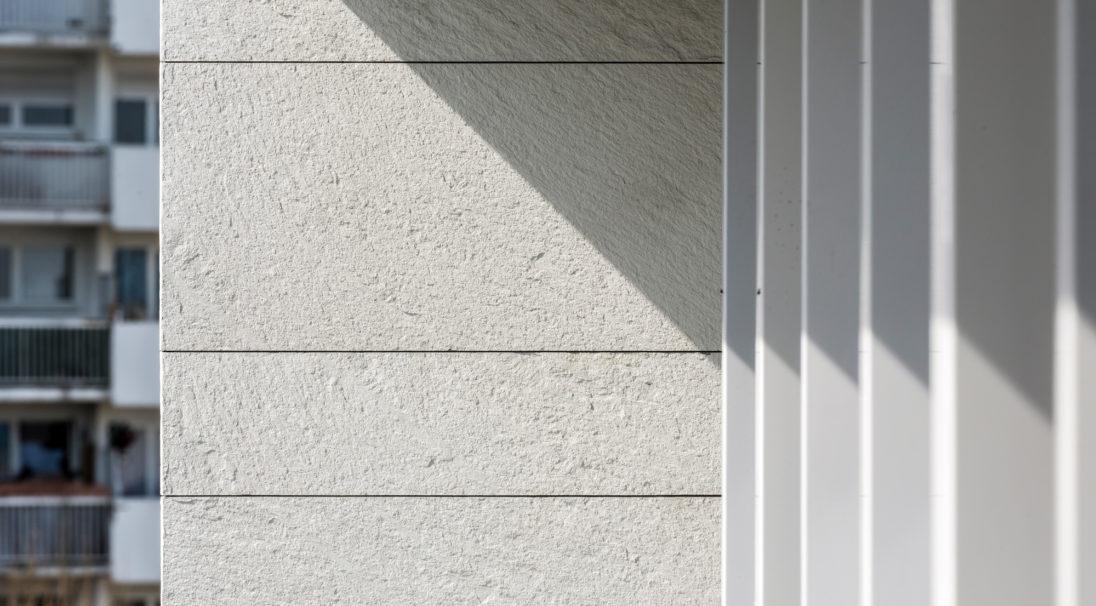 Aspect minéral Carea GRANITÉ, pour une façade minérale (bardage avec ossature et sans ossature, vêture)