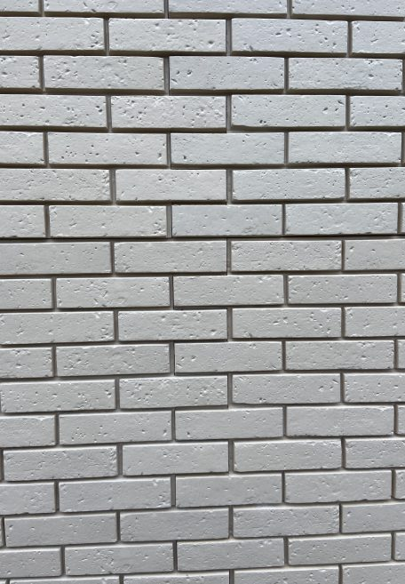 Aspect minéral Carea Brique, pour une façade minérale (bardage avec ossature et sans ossature, vêture)
