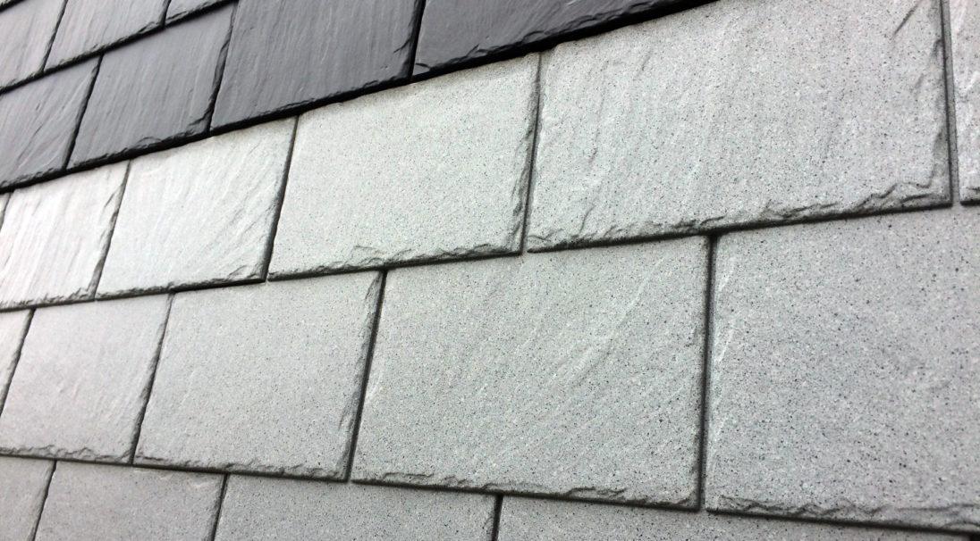 Aspect minéral Carea Ardoise, pour une façade minérale (bardage avec ossature et sans ossature, vêture)