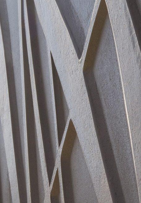 Aspect minéral Carea Végétal, pour une façade organique (bardage avec ossature et sans ossature, vêture)
