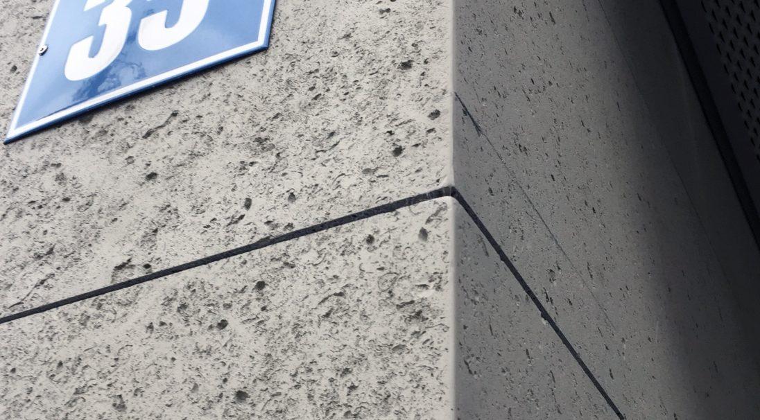 Lieu : Zurich (Suisse),  Système de pose : bardage avec ossature (BAO),  Produit : COQUILLÉ