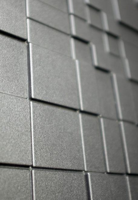 Aspects minéraux Carea Graf 100 et Graf 200, pour une façade graphique et urbaine (bardage avec ossature et sans ossature, vêture)