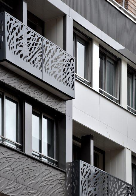 Logements rue de Ponthieu (75)