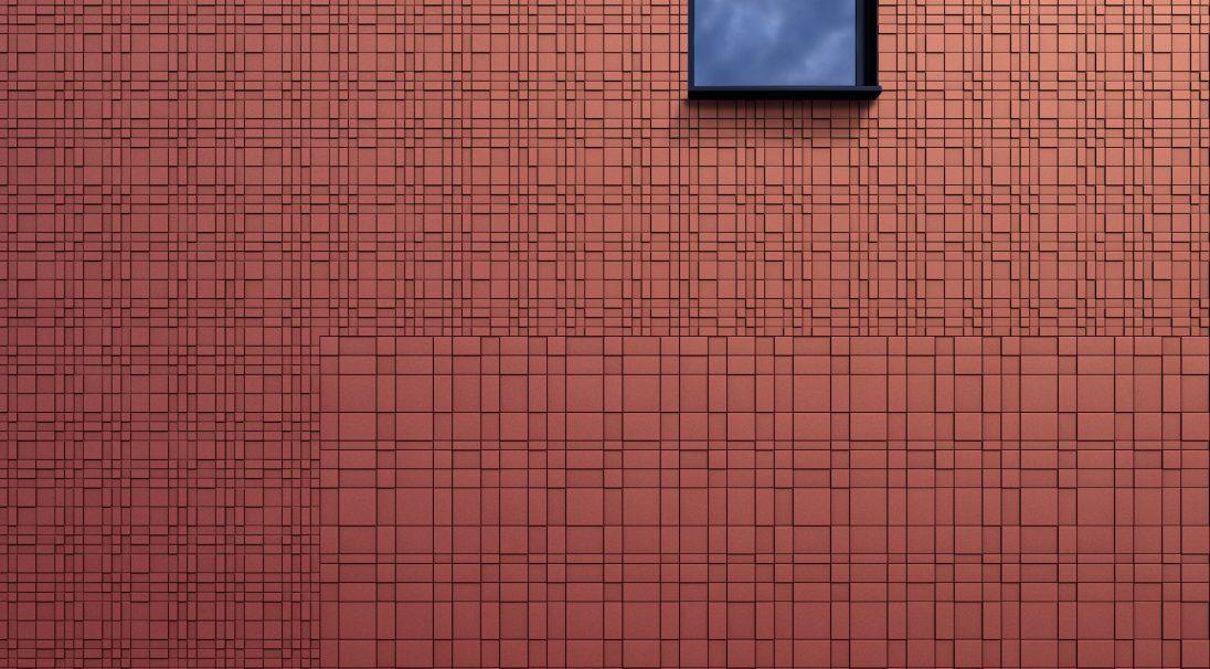 Aspects minéraux Carea Graf 100 et Graf 200, pour une façade urbaine et graphique (bardage avec ossature et sans ossature, vêture)