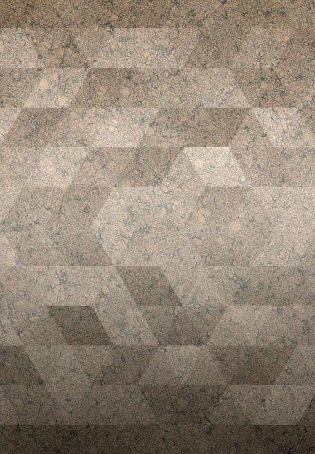 Aspect minéral Carea Pixel, pour une façade graphique (bardage avec ossature et sans ossature, vêture)