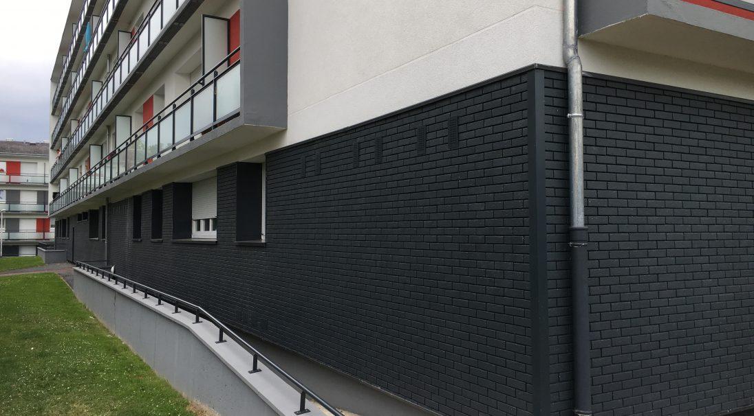 Logement Hauteville 128 à Lisieux - Brique
