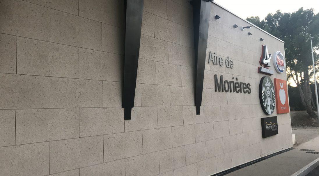 Aire de services de Morières-lès-Avignon