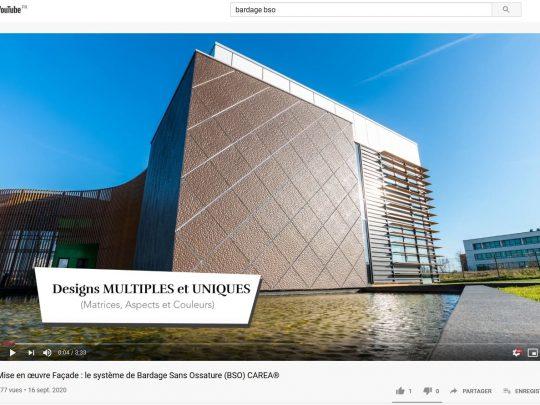 Vidéo Bardage Sans Ossature